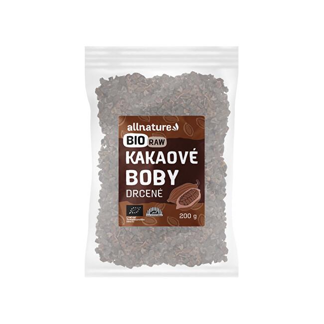 Zobrazit detail výrobku Allnature RAW BIO Drcené kakaové boby 200 g
