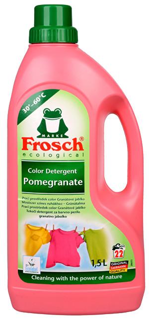Zobrazit detail výrobku Frosch Tekutý prací přípravek na barevné prádlo Granátové jablko 1500 ml