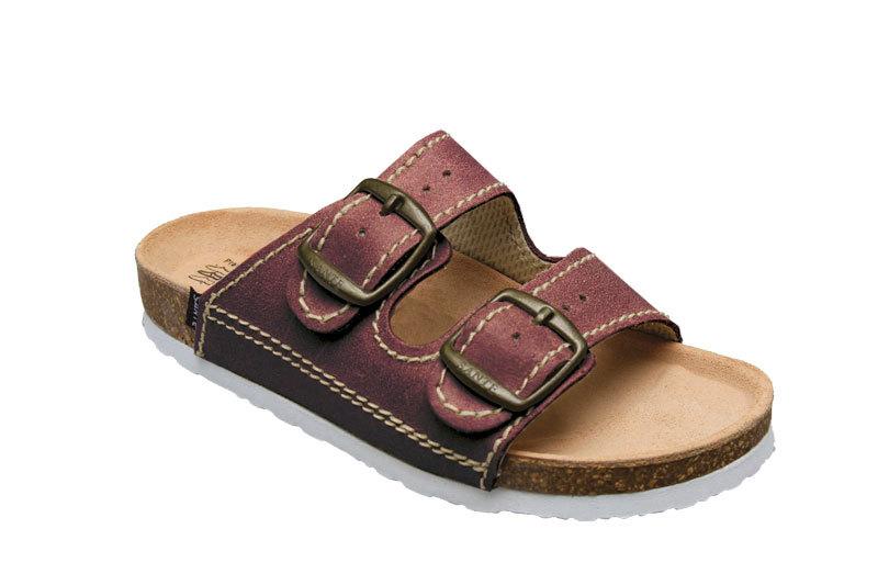 SANTÉ Zdravotná obuv detská D / 202 / C32 / BP bordo 30