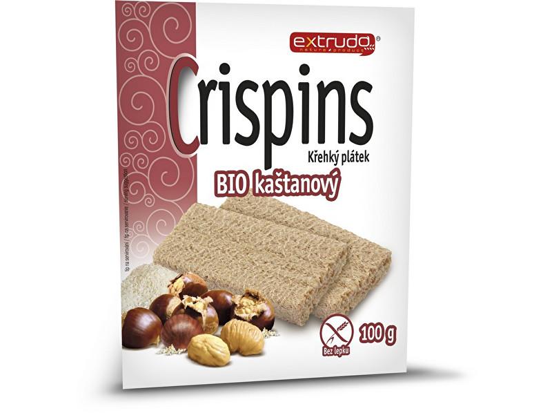 Zobrazit detail výrobku EXTRUDO Bio Cereální křehký chléb Crispins kaštanový 2x50g