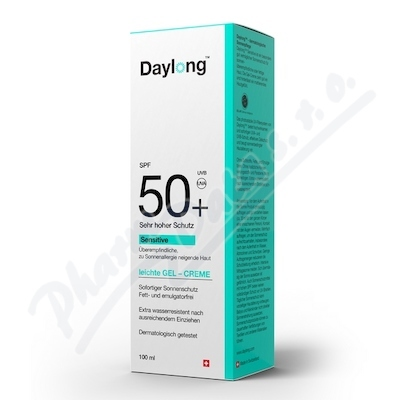SPIRIG PHARMA GMBH Daylong sensitive SPF 50+ 100ml gel-creme