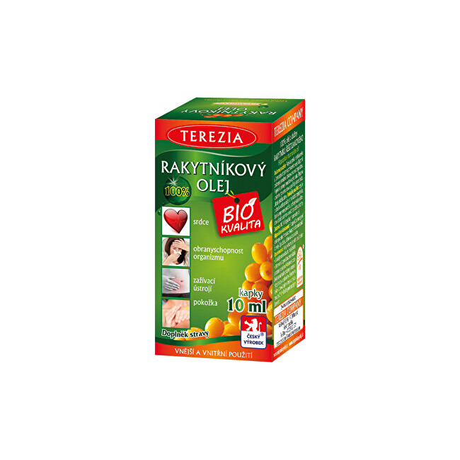 Zobrazit detail výrobku Terezia company Rakytníkový olej kapky 10 ml