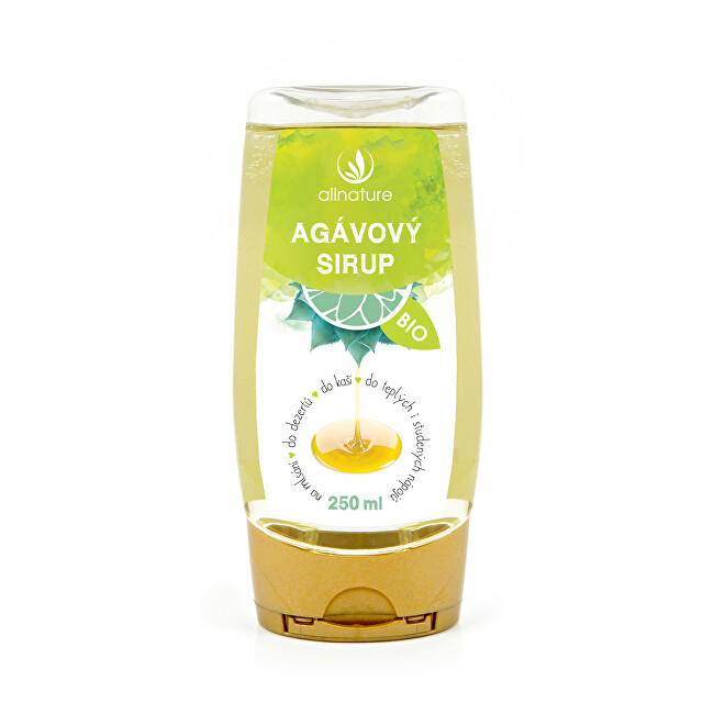 Zobrazit detail výrobku Allnature Agávový sirup BIO 250 ml