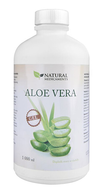 Natural Medicaments Aloe Vera gél 1000 ml
