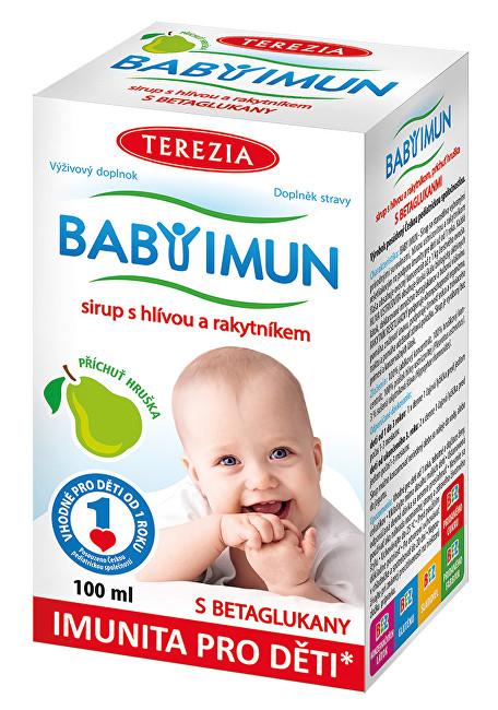 Baby Imun sirup s hlívou a rakytníkem - příchuť hruška 100 ml