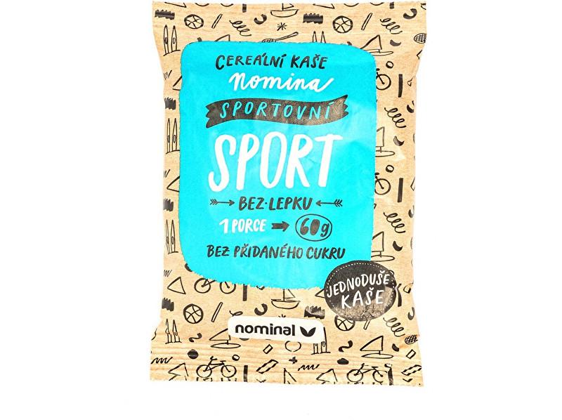 Zobrazit detail výrobku NOMINAL Cereální kaše NOMINA sportovní / sport 60g