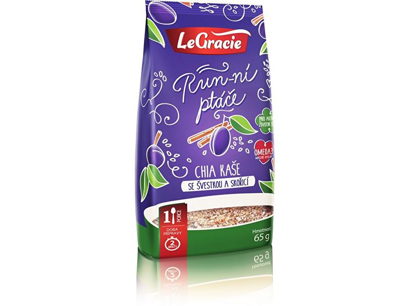Zobrazit detail výrobku LeGracie Chia kaše - švestka a skořice 65g