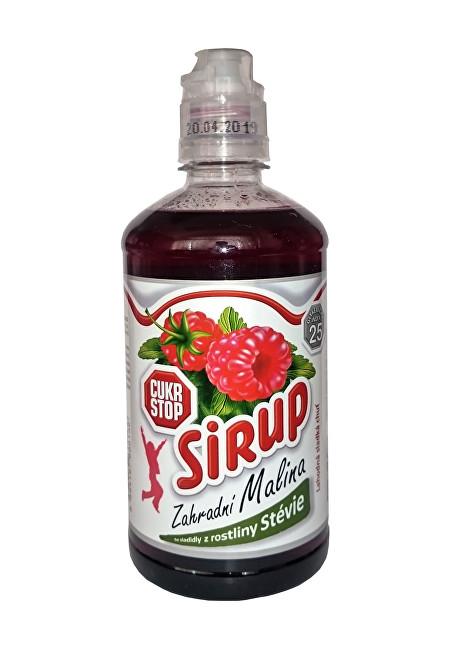 Zobrazit detail výrobku Cukr Stop Sirup zahradní Malina 650 g