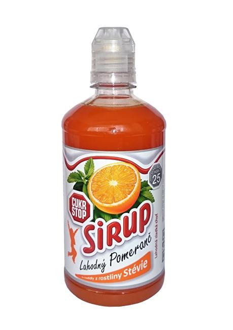 Zobrazit detail výrobku Cukr Stop sirup lahodný pomeranč 500ml