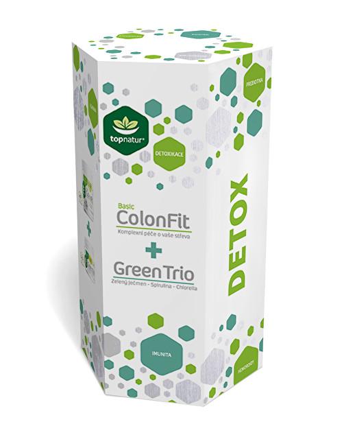 Zobrazit detail výrobku Topnatur Detox ColonFit 180 kapslí + Green Trio 180 tablet