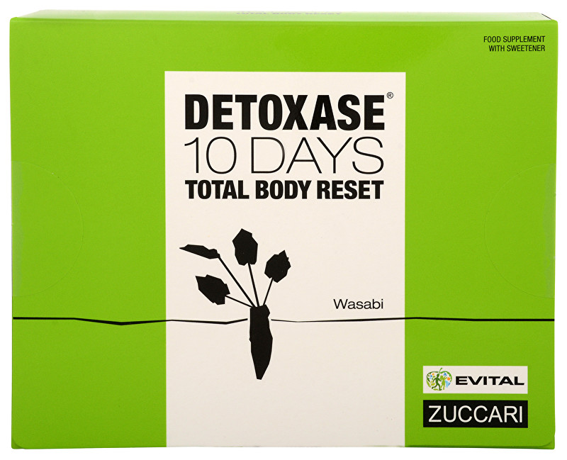 Zuccari Detoxase 10 days Total Body Reset 10 sáčků