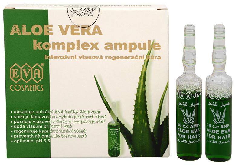 EVA Aloe Vera Vlasové ampule 5 x 10 ml