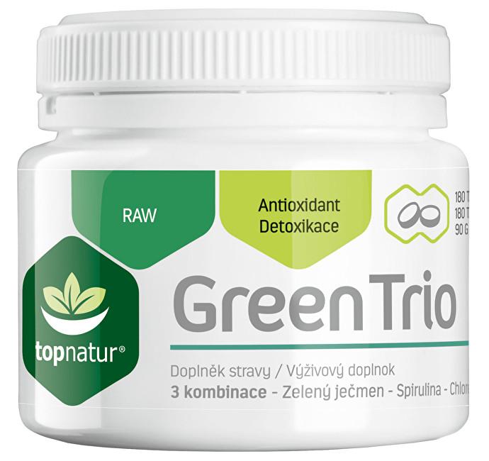 Zobrazit detail výrobku Topnatur Green Trio 180 tbl.