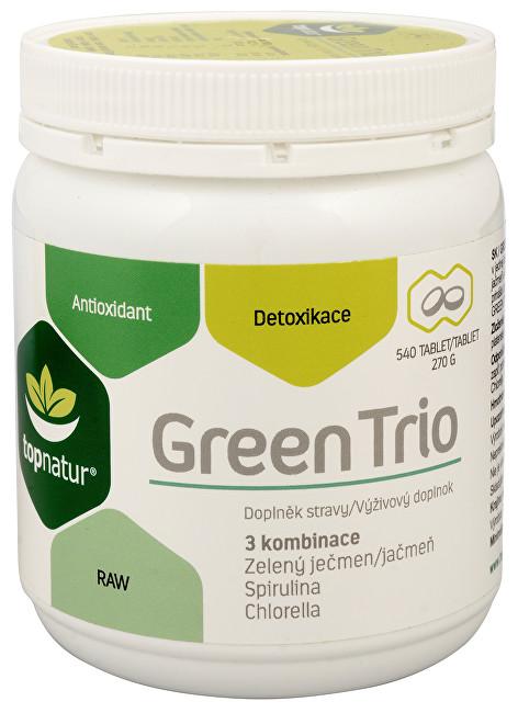 Zobrazit detail výrobku Topnatur Green Trio 540 tbl.