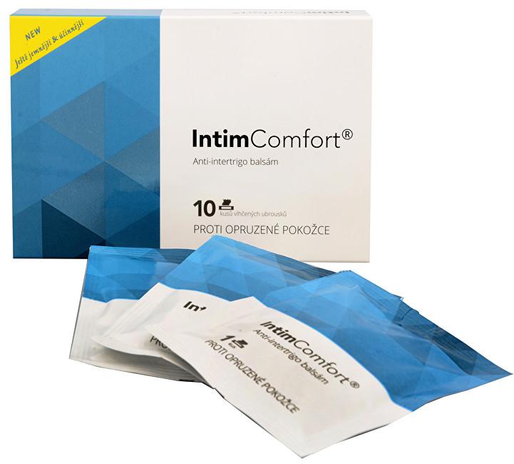 Zobrazit detail výrobku Simply You Intim Comfort Anti-intertrigo komplex balzám 10 ks vlhčených ubrousků