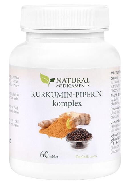 Zobrazit detail výrobku Natural Medicaments Kurkumin-piperin komplex 60 tablet