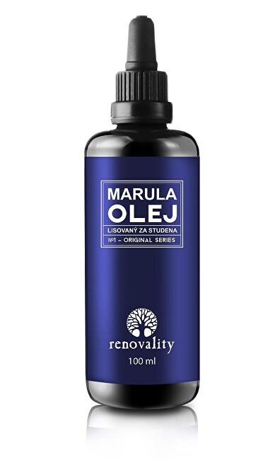 Zobrazit detail výrobku Renovality Marulový olej za studena lisovaný s pipetkou Renovality 100 ml