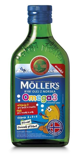 Zobrazit detail výrobku Mollers Omega 3 Ovocná příchuť 250 ml