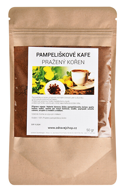 Pampelišková káva 50 g MLETÁ