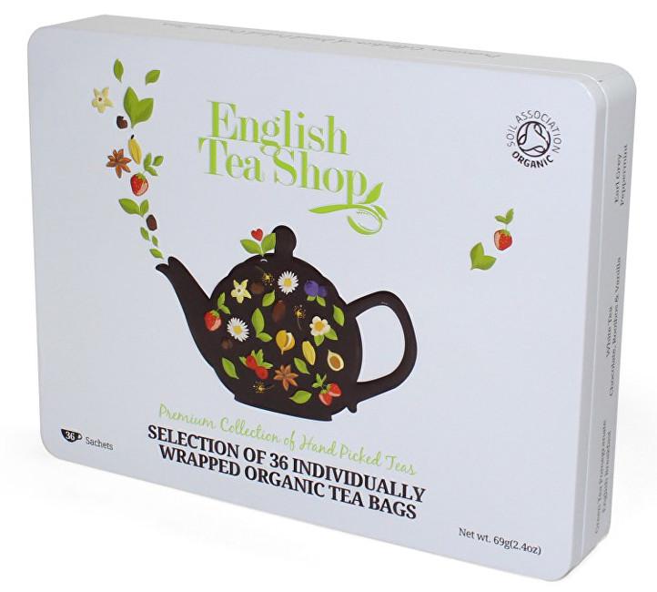 Zobrazit detail výrobku English Tea Shop Dárková sada čajů 36 sáčků/6 příchutí - bílá
