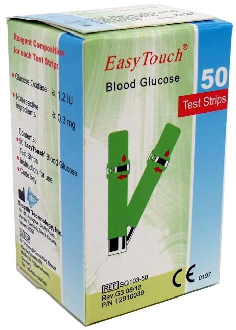 Zobrazit detail výrobku EasyTouch Proužky EasyTouch-glukóza 50ks