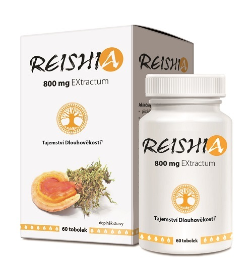 REISHIA 800 mg EXtractum 60 tob.