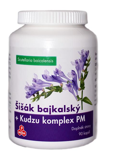 Zobrazit detail výrobku Purus Meda Šišák bajkalský + Kudzu komplex PM 90 kapslí