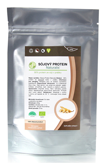 Sójový protein Naturalis BIO 250 g