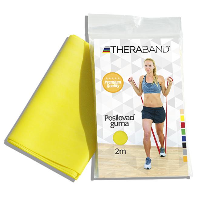 Zobrazit detail výrobku Thera-Band Thera-Band Posilovací guma 12,5 cm x 2 m Žlutá - slabá