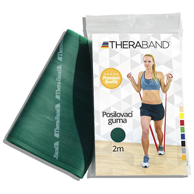 Zobrazit detail výrobku Thera-Band Thera-Band Posilovací guma 12,5 cm x 2 m Zelená - silná