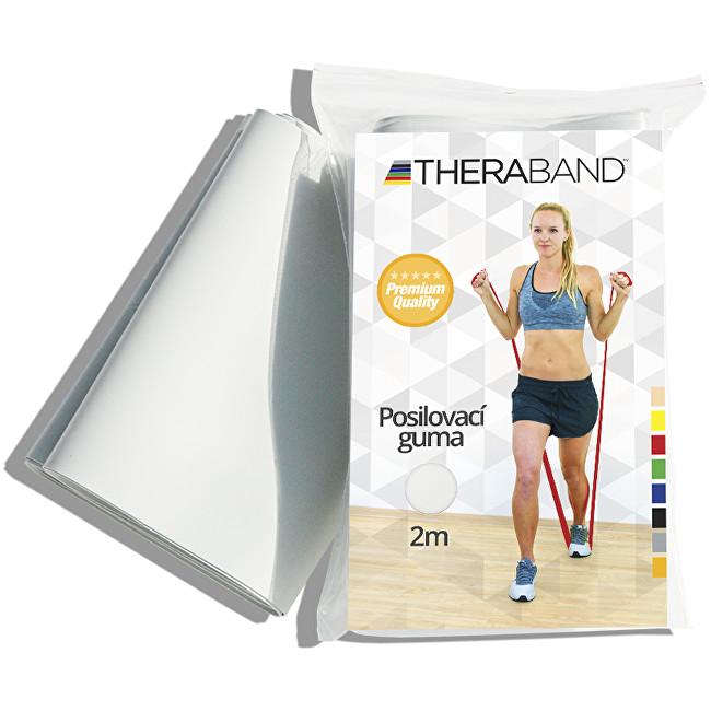 Zobrazit detail výrobku Thera-Band Thera-Band Posilovací guma 12,5 cm x 2 m Stříbrná - super silná