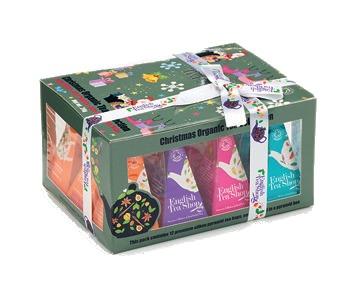 Zobrazit detail výrobku English Tea Shop Vánoční sada 12 pyramidových sáčků - Ozdoby Ozdoby