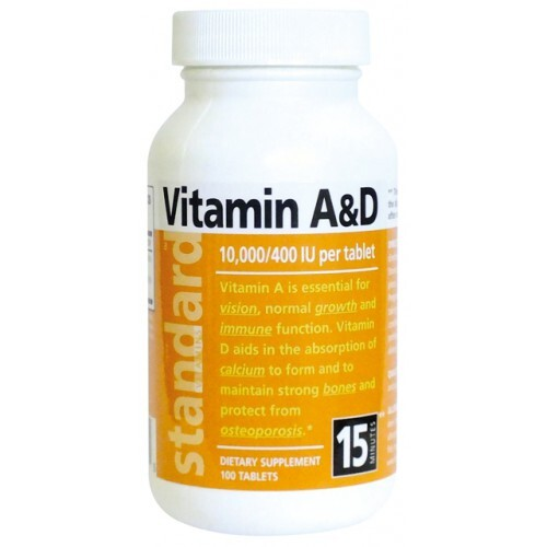 Vitamín A/D 10 000/400 IU 100 tablet