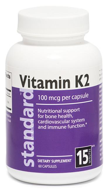 Vitamín K2 60 kapslí