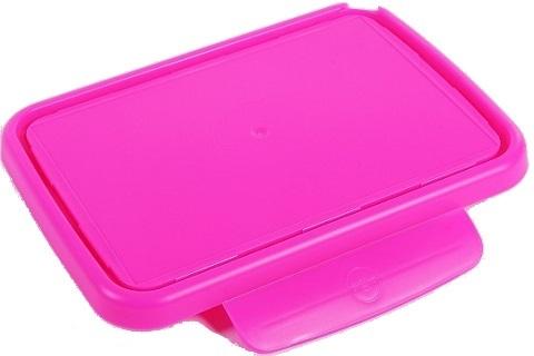 Zobrazit detail výrobku R&B náhradní víčko ke svačinovému boxu Zdravá sváča fluo růžová