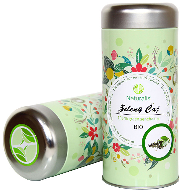 Zelený čaj Naturalis BIO 70 g