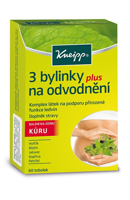 Zobrazit detail výrobku Kneipp 3 bylinky na odvodnění 60 tobolek - SLEVA - POŠKOZENÁ KRABIČKA