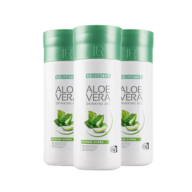 LR Lifetakt Aloe Vera Drinking Gel Intense Sivera 3 x 1000 ml