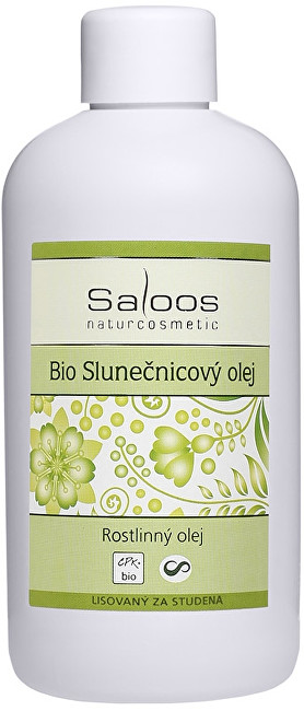 Bio Slunečnicový olej lisovaný za studena 1l