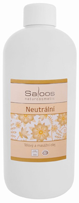 Zobrazit detail výrobku Saloos Bio tělový a masážní olej - Neutrální 250 ml