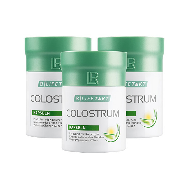 LR Lifetakt Colostrum 3 x 60 kapslí