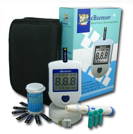 Glukometr eBsensor set + 50 proužků