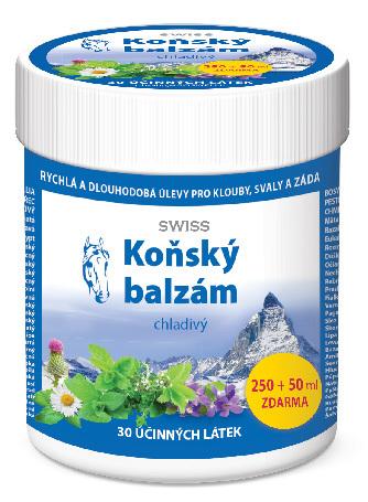 Zobrazit detail výrobku Simply You Koňský balzám SWISS chladivý 250 ml + 50 ml ZDARMA