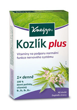 Kozlík plus 40 tablet