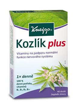 Zobrazit detail výrobku Kneipp Kozlík plus 40 tablet