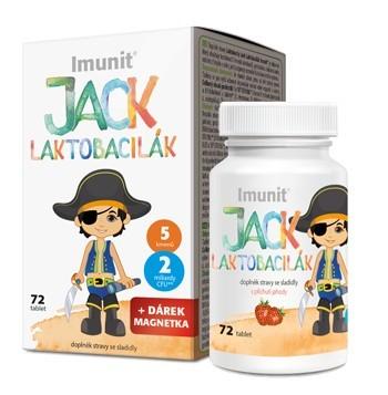 Laktobacily Jack Laktobacilák Imunit 72 tablet