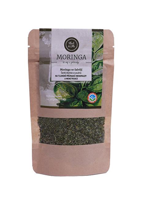 Zobrazit detail výrobku Herb & Me Moringa olejodárná se šalvějí lékařskou 30 g