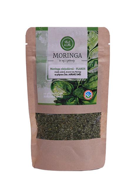 Zobrazit detail výrobku Herb & Me Moringa olejodárná - sušené listy (flakes) 30 g