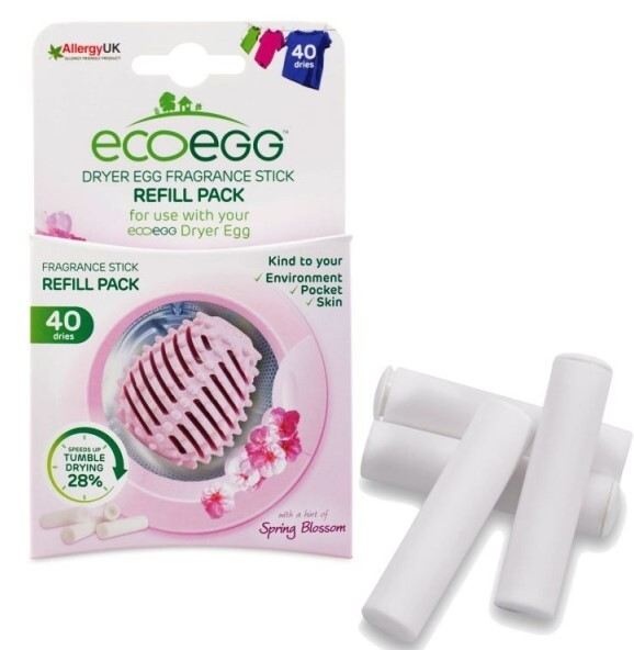 Zobrazit detail výrobku Ecoegg náhradní tyčinky do sušícího vajíčka s vůní jarních květů 4 ks