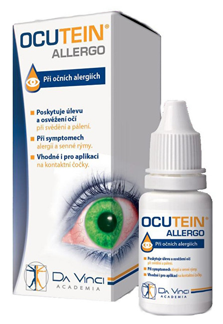 Zobrazit detail výrobku Simply You Ocutein Allergo oční kapky 15 ml